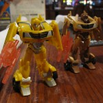 Bumblebee and Copperhead at Dave & Busters
