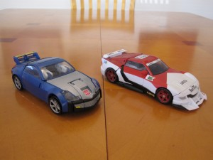 Blue Bluestreak and Marlboor - Sports Car modes