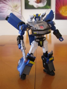 Blue Bluestreak - Robot mode