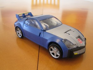 Blue Bluestreak - Sports Car mode