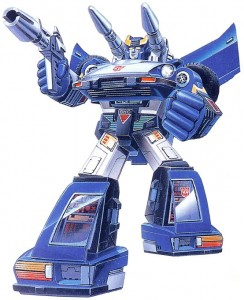 G1 Bluestreak Box Art
