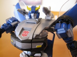 Blue Bluestreak - Close-up