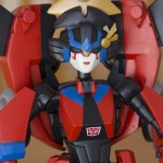 Transformers Animated Windblade - Close-up