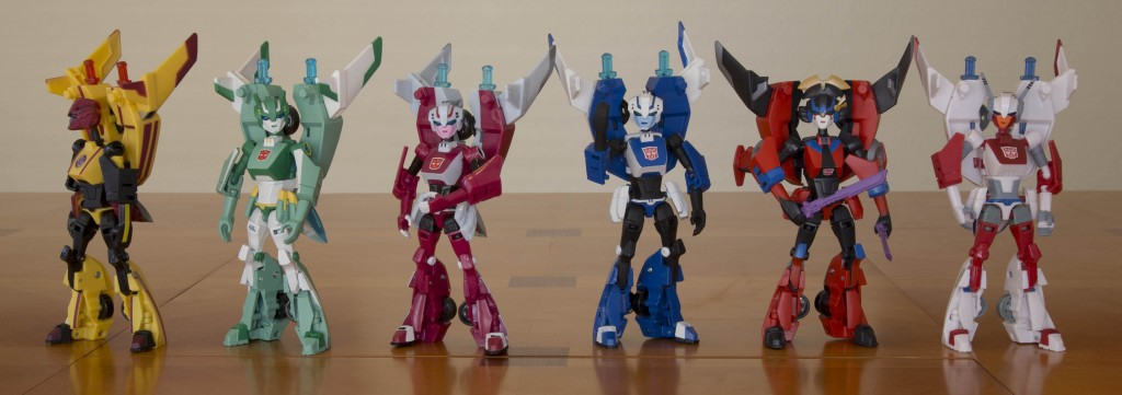 Transformers Animated Fembots
