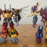 ToyWorld Throttlekaiser and Unique Toys Ordin