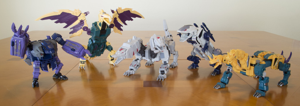 Terrorcons - Monster modes