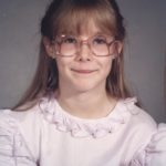 Jessica's fourth grade photo. (9/1986)