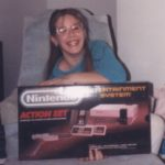 Jessica gets the best gift ever for Christmas, a Ninetendo system!!! (12/25/1987)