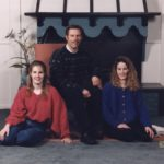 The Cole Family: Jessica, Douglass and Kathleen. (12/1992)