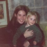 Ashley gets a big hug from her Aunt Jessica. (12/27/1995)