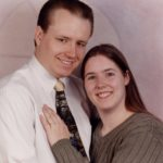 Engagement photos for Andrew Green and Jessica Cole. (1/3/2002)