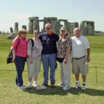 The Green Family enjoys the views at Stonehenge in England. (7/16/2006)