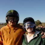 Andrew and Jessica get ready to ride an ATV in Sedona, Arizona. (12/6/2006)