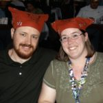 Andrew and Jessica wear pirate scarfs on a Disney Cruise to the Carribean. (3/2008)