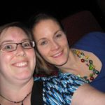 Jessica poses with her sister during a Las Vegas trip. (2/26/2010)