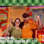 Jessica and Andrew attend a taping of the Price is Right in California. (5/19/2010)