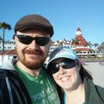 Andrew and Jessica fulfilled a lifelong dream to stay at the Hotel del Coronado on Coronado Island, CA. (6/5/2015)