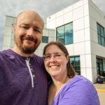 Andrew and Jessica in front of Paisley Park, the home of musician Prince. (5/27/2017)