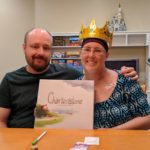 Andrew and Jessica Green were crowned co-winners of Charterstone, a board game with a campaign. Technically Jessica was the true winner. (4/20/2018)
